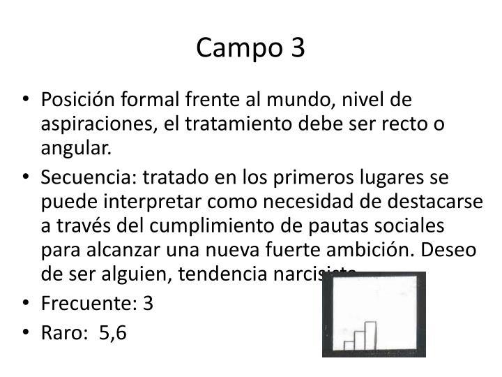 Campo 3