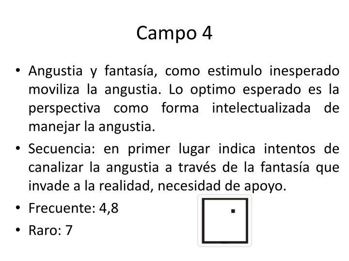Campo 4