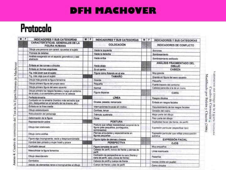 DFH MACHOVER