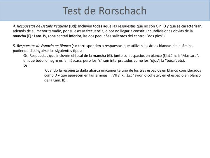 Test de