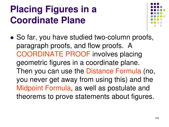 Placing Figures in a Coordinate Plane