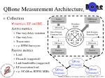 qbone measurement architecture 1
