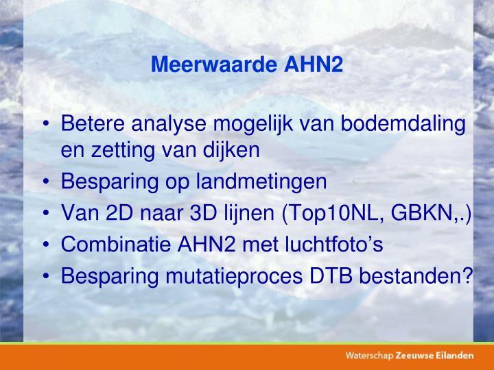 Meerwaarde AHN2