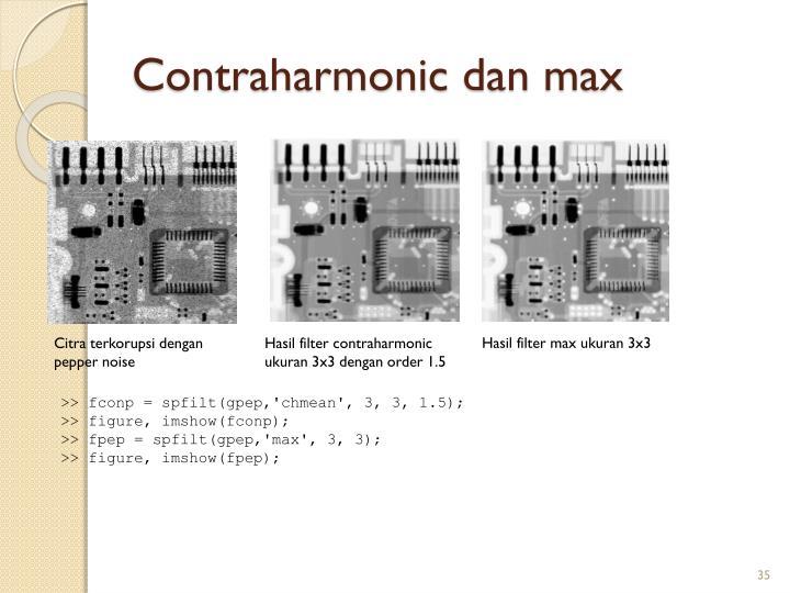 Contraharmonic