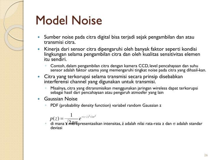 Model Noise
