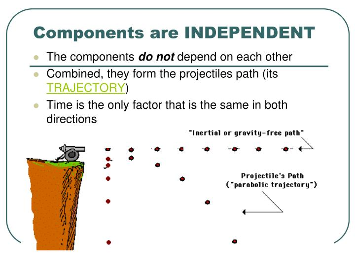 Components are INDEPENDENT