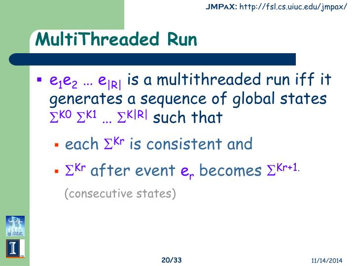 MultiThreaded Run
