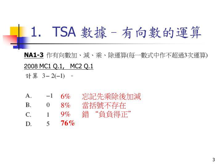 1.TSA