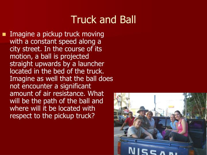 Truck and Ball