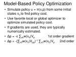 model based policy optimization