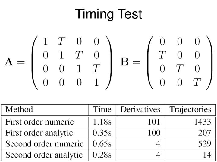 Timing Test
