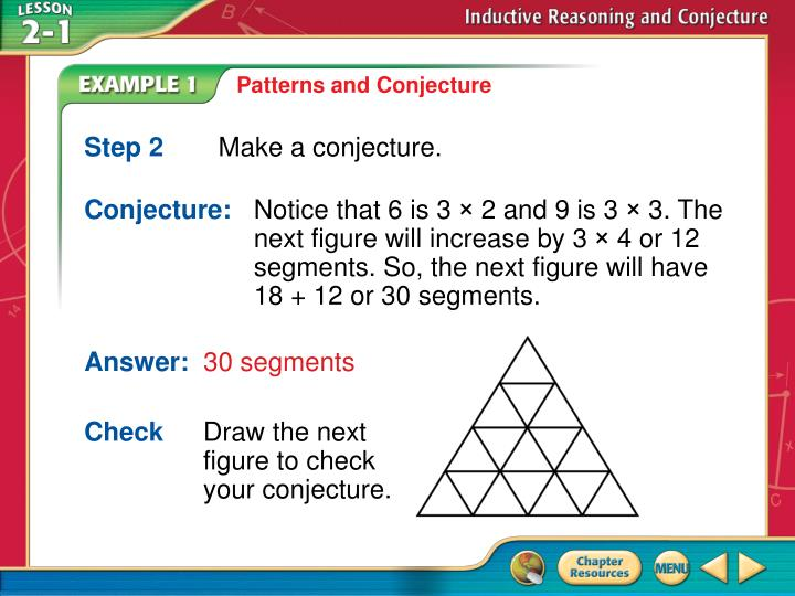 Patterns and Conjecture