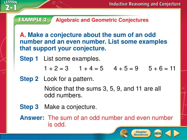 Algebraic and Geometric Conjectures