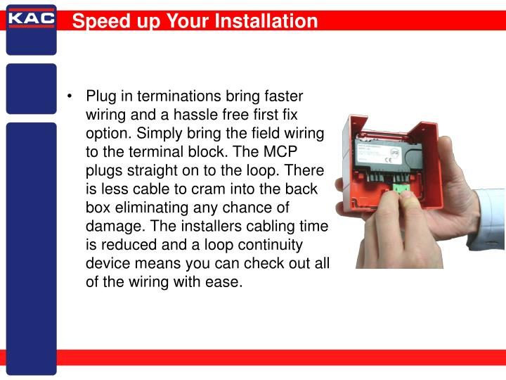 Speed up Your Installation