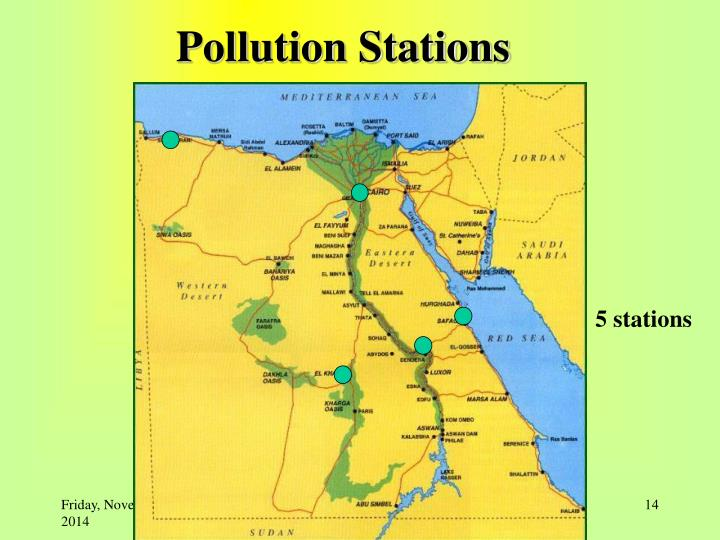 Pollution Stations