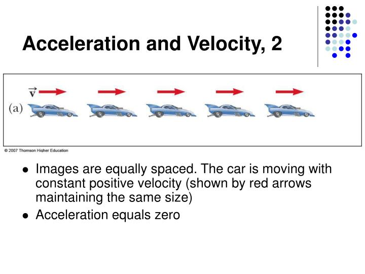 Acceleration and Velocity, 2