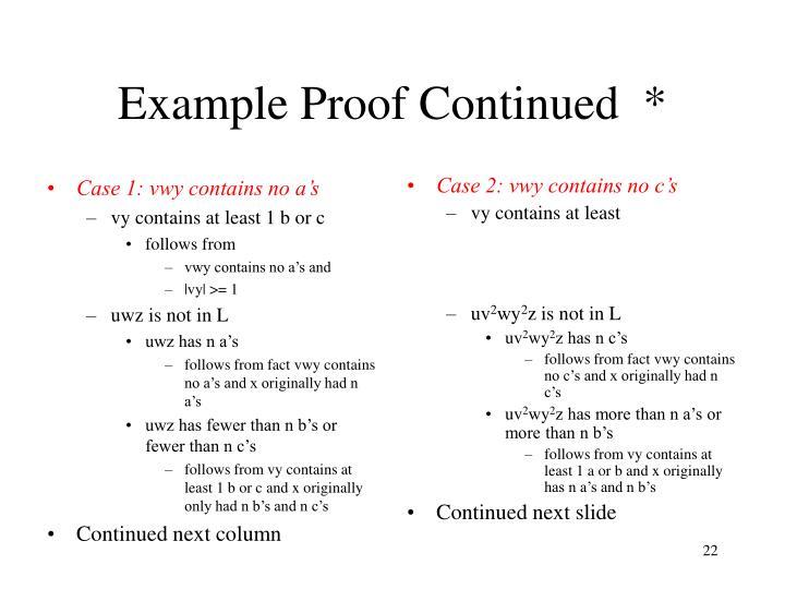 Case 1: vwy contains no a's