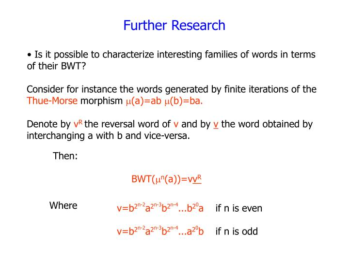 Consider for instance the words generated by finite iterations of the