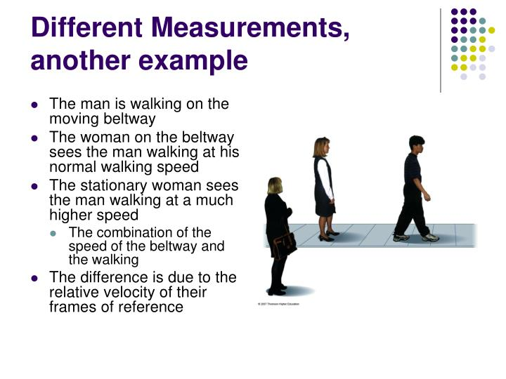 Different Measurements, another example