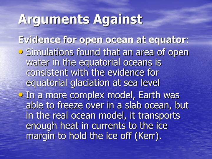 Arguments Against