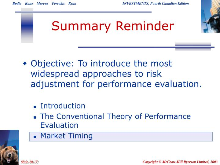 Summary Reminder