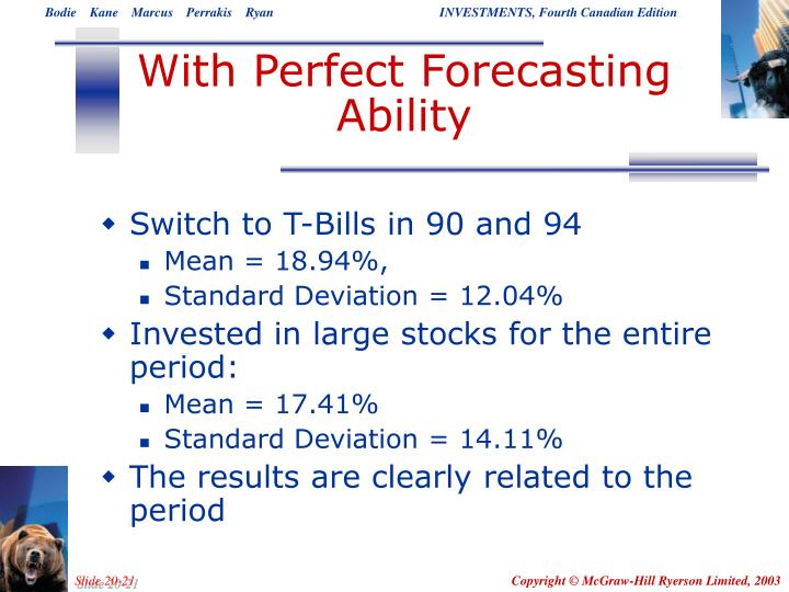 With Perfect Forecasting Ability