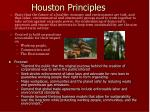 houston principles