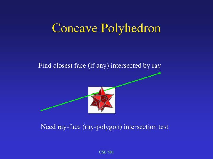 Concave Polyhedron