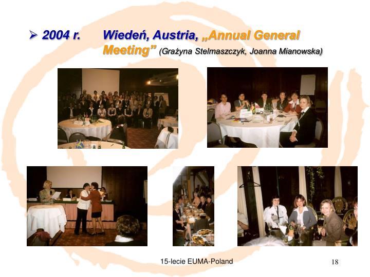 2004 r. Wiedeń, Austria,