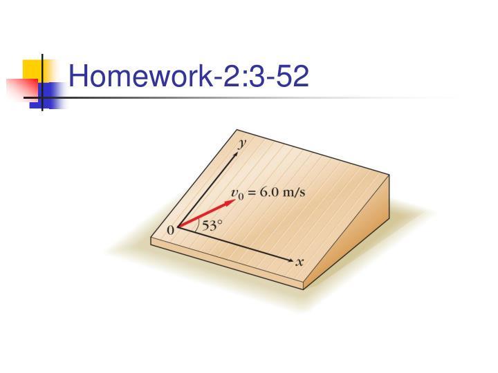Homework-2:3-52
