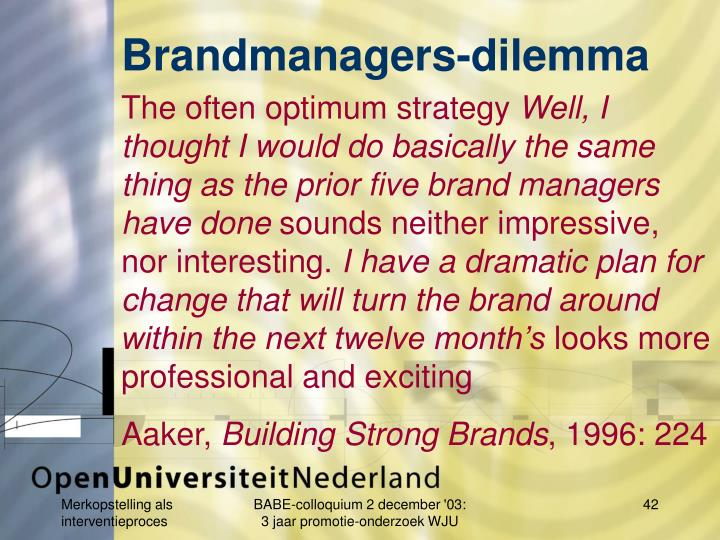 Brandmanagers-dilemma