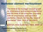 marketeer element merksysteem