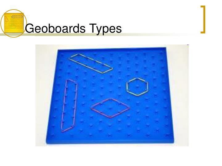 Geoboards Types