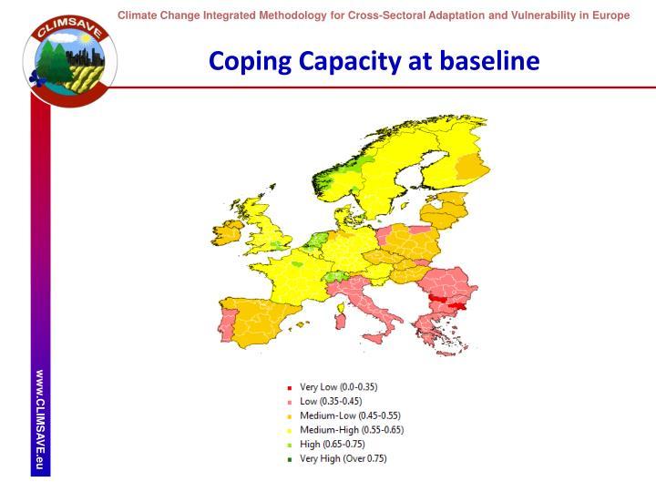 Coping Capacity at baseline