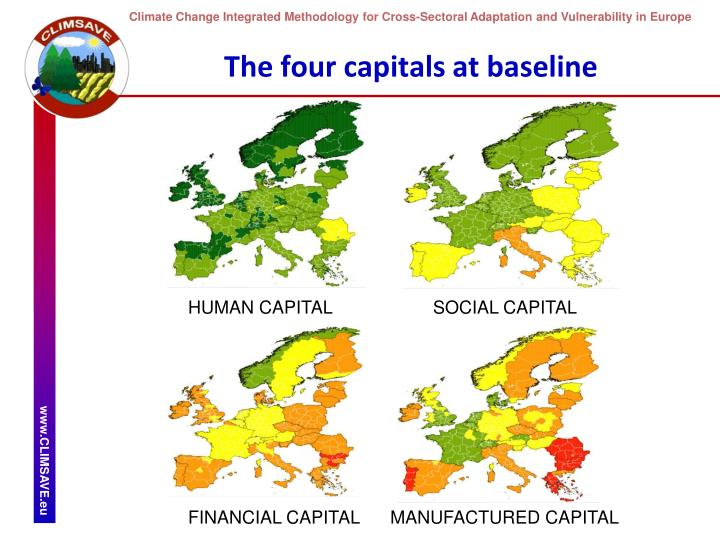 The four capitals at baseline