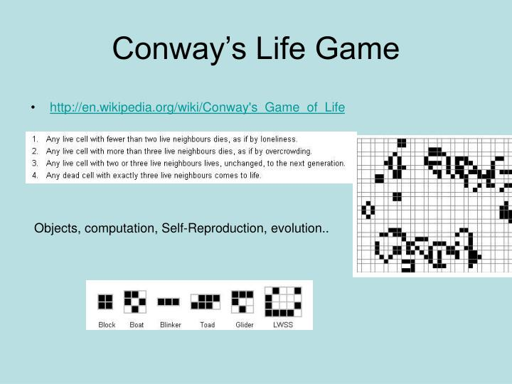 Conway's Life Game
