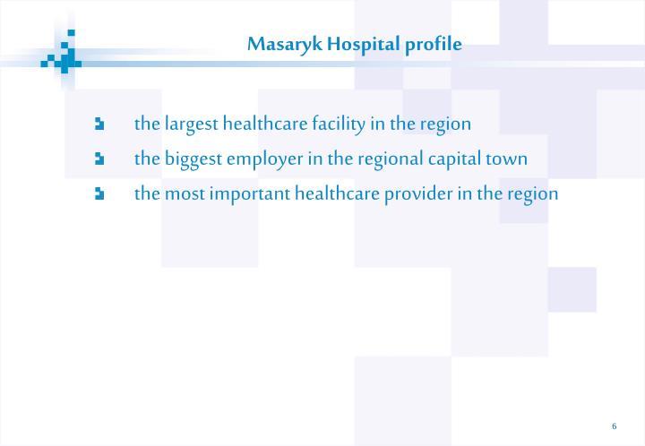 Masaryk Hospital pro