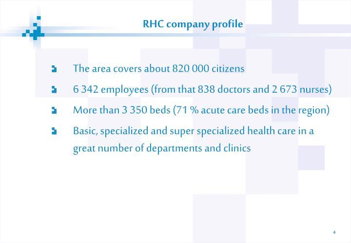 RHC company profile
