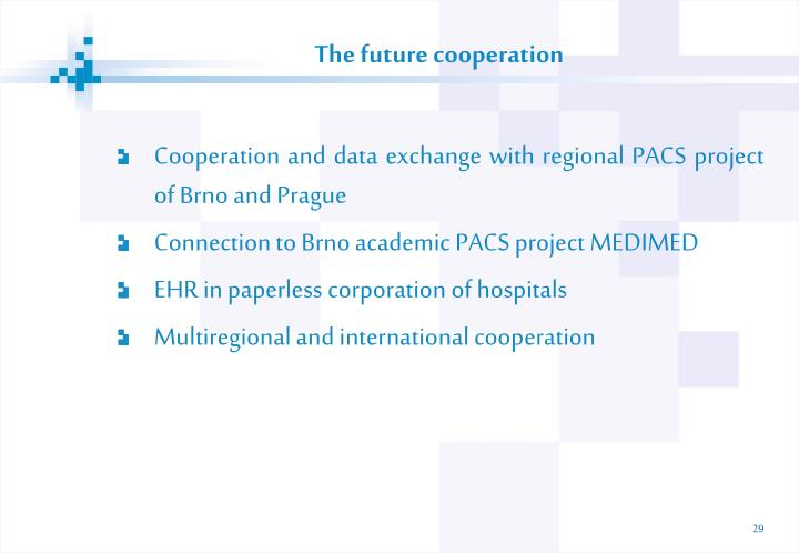 The future cooperation