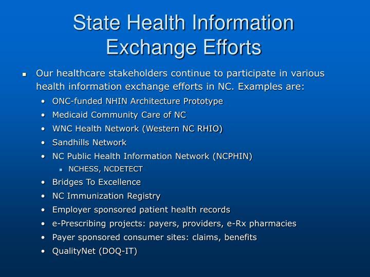 State Health Information