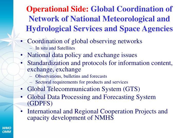 Operational Side: