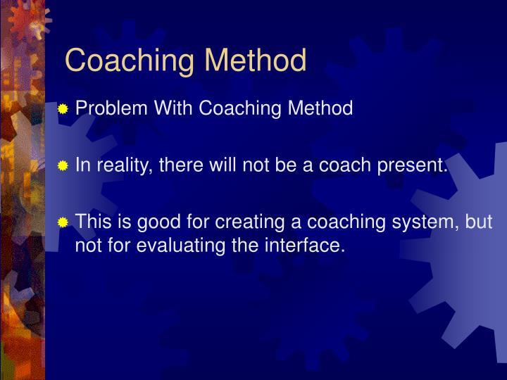 Coaching Method