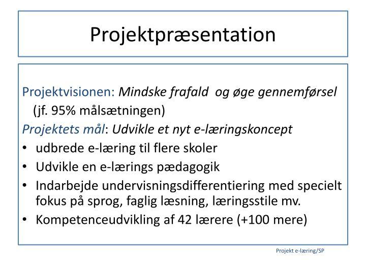 Projektpræsentation
