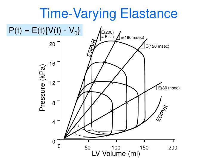 Time-Varying Elastance