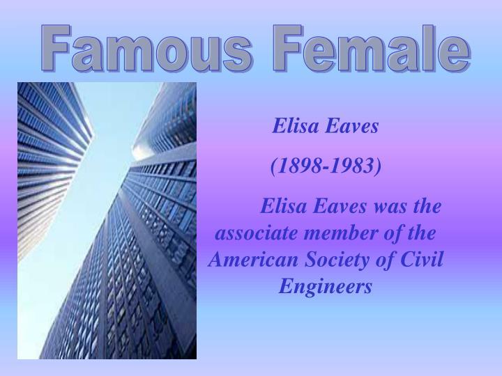Famous Female