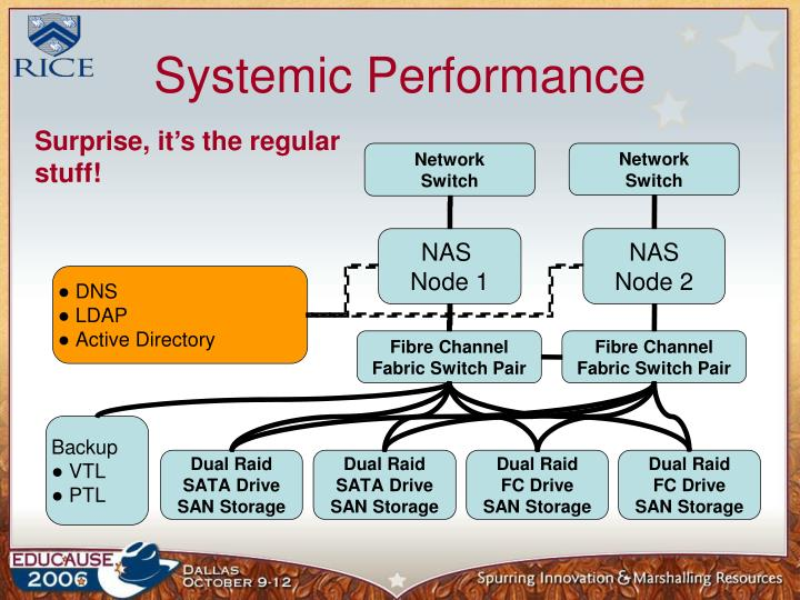 Systemic Performance