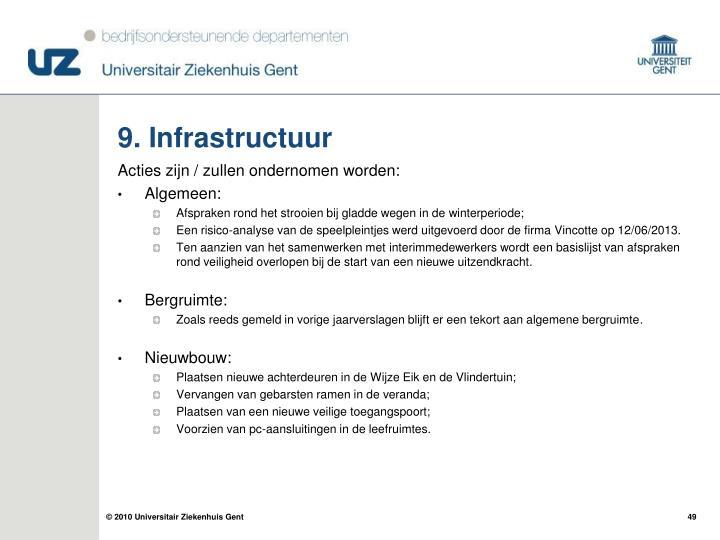 9. Infrastructuur