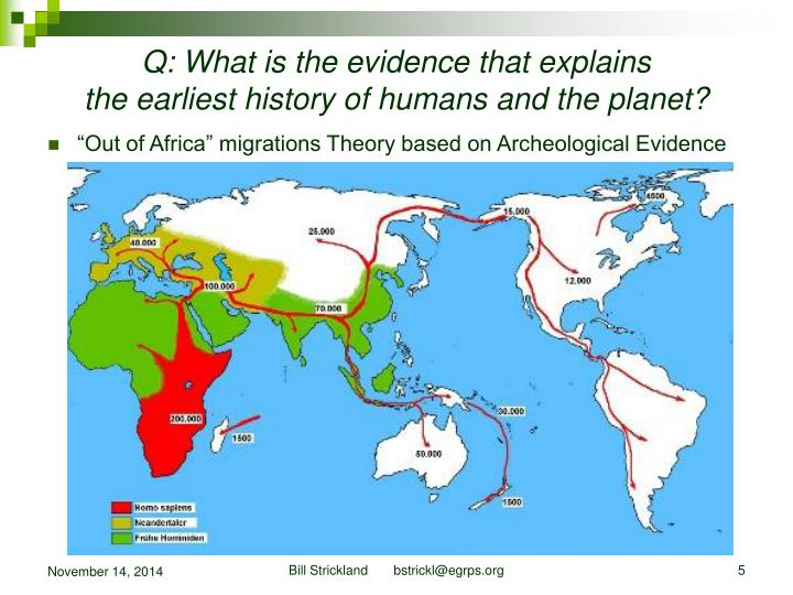 Q: What is the evidence that explains