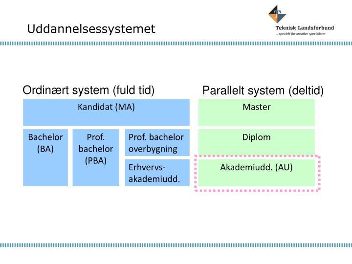 Uddannelsessystemet