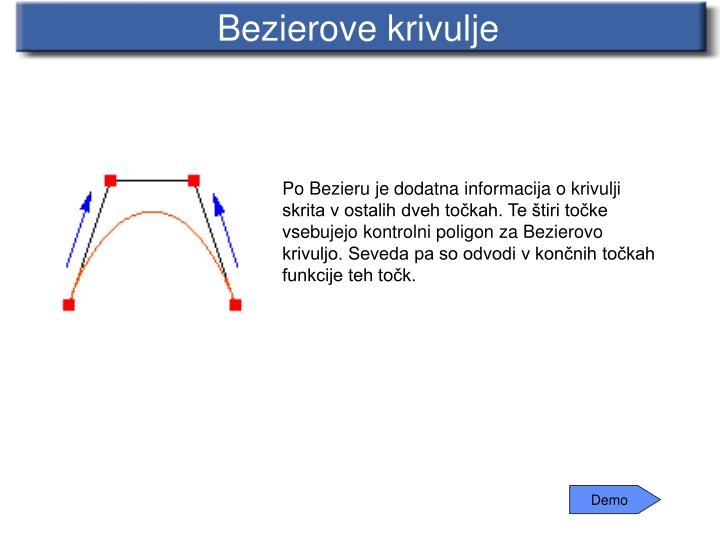 Bezierove krivulje
